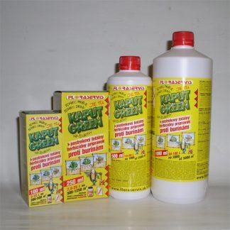Kaput green – totálny herbicíd