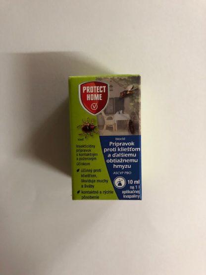 PROTECT HOME prípravok proti kliešťom a ďalšiemu obtiažnemu hmyzu 10 ml