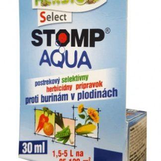 Stomp Aqua proti klíčiacim burinám