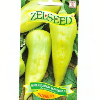 """Paprika zeleninová veľmi skorá """"DUVAL F1"""""""