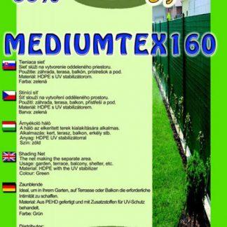 Tieniaca sieť na ploty MediumTex 90%