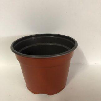 Črepník plastový odľahčený priemer 9 cm 8°