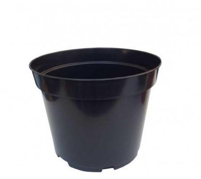 Kvetináč čierny plastový BC