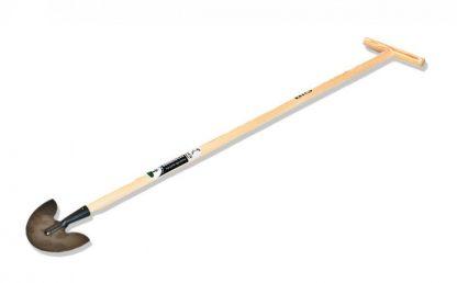 Zakrajovač okrajov trávnika 18 cm BIG, drevená lakovaná násada