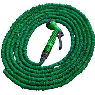 Hadica záhradná zmršťovacia 7m-22 m, pištol multifunkčná zelená BRADAS