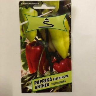 """Paprika zeleninová veľmi skorá """"ANTHEA"""" 0,2g"""