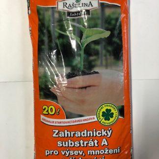 Rašelina Soběslav zemina A na výsev a množenie 20 L