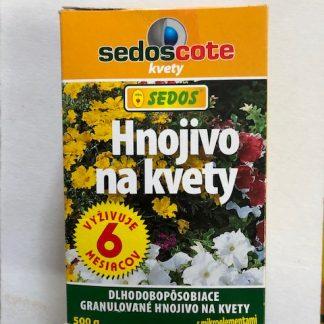 SEDOSCOTE hnojivo na kvety, dlhodobo pôsobiace, 500g
