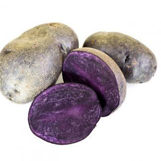 """Holandské sadivo zemiakov """"VIOLET QUEEN"""" fialove,skorá, varný typ B, cca 1 kg"""