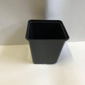 Kvetináč(kontajner) plastový čierny EX 13x13x13 cm