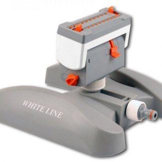 Povrchová závlaha Zavlažovač oscilačný / preklápací – WHITE LINE Turbo – 20 trysiek- BRADAS