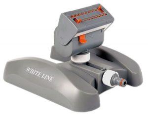 Zavlažovač oscilačný – výkyvný – WHITE LINE – nastaviteľný- BRADAS