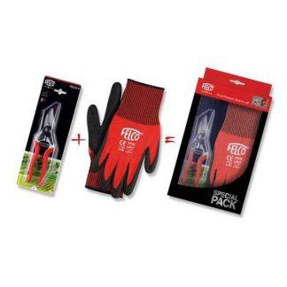 Nožnice Felco 6 + rukavice Felco 701M, darčekový set
